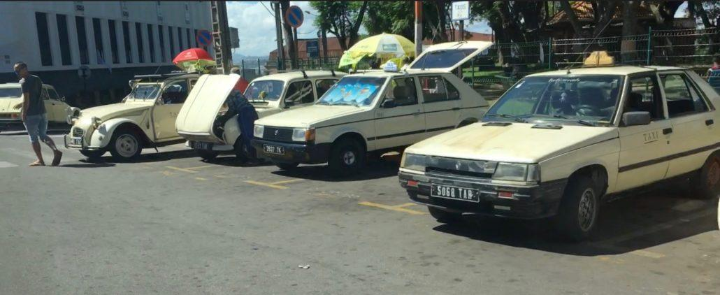 Taxis in Madagaskar